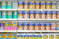 Le lait en poudre infantile chinois Image libre de droits