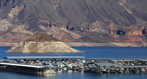 Le Lake Mead Image libre de droits