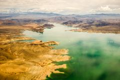 Le Lake Mead Grand Canyon Image stock