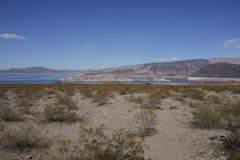 Le Lake Mead, parc d'état, Nevada Images stock