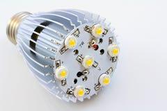 Le lampadine del LED con 1 watt di SMD scheggia Immagini Stock Libere da Diritti