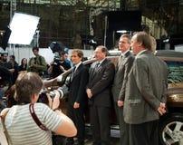 Le lancement du chiffon de Dacia Image libre de droits