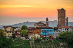 Le Langhe, Barbaresco Stock Image