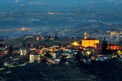 Le Langhe, Mango (Italy) Royalty Free Stock Photos