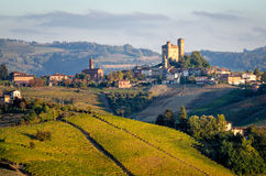 Le Langhe Serralunga d Alba Royalty Free Stock Photo