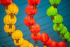 Le lanterne del cinese tradizionale Fotografia Stock Libera da Diritti
