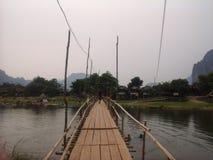 Le Laotien de Vangvieng Photographie stock libre de droits