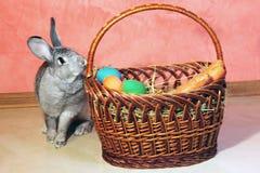 Le lapin de Pâques Photos stock