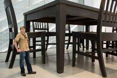 Le large musée Images stock