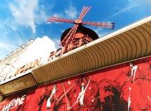 Le le Moulin rouge de Paris Images libres de droits