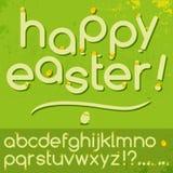 ABC di Pasqua Fotografia Stock