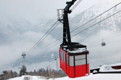Le levage dans les montagnes photos libres de droits