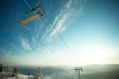Le levage de montagne Image libre de droits