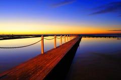 Le lever de soleil Photographie stock libre de droits