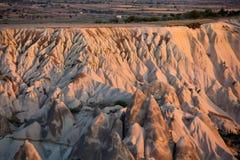 Le lever de soleil au-dessus de Cappadocia Photo stock