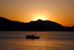 Le lever de soleil est né Photo libre de droits