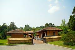 Le lieu de naissance de Kim Il-sung, Pyong Yang, Nord-Corée Photo stock