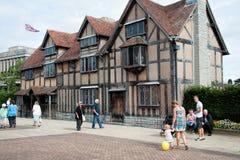 Le lieu de naissance de Shakespeare image libre de droits