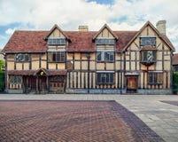 Le lieu de naissance de William Shakespeare Photo stock