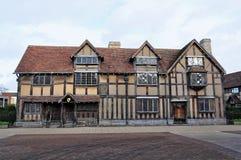 Le lieu de naissance de William Shakespeare image stock