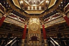 Le lieu de réunion des empereurs chinois antiques Photo stock