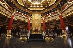 Le lieu de réunion des empereurs chinois antiques Photographie stock libre de droits