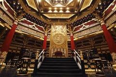 Le lieu de réunion des empereurs chinois antiques Image stock
