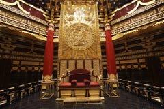 Le lieu de réunion des empereurs chinois antiques Images stock