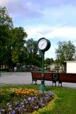 Le lieu de rencontre en parc Image stock