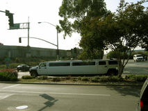 Le limousine di Hummer, Montclair, California, U.S.A. Fotografia Stock