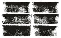Le linee audaci alti linee & fondo del rullo di pittura di vettore dell'estratto del dettaglio hanno messo 58 Immagine Stock Libera da Diritti