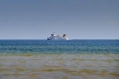 Le linee delle coste spediscono al Mar Baltico fotografia stock
