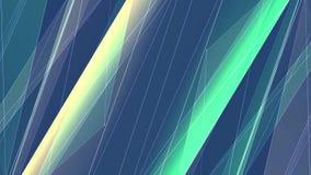 Le linee nette del poligon GIALLO VERDE simmetrico astratto si appannano il moto dinamico della tecnologia di nuova qualità del f royalty illustrazione gratis