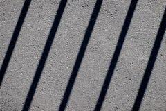 Le linee sull'asfalto Fotografia Stock