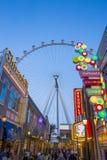 Le Linq Las Vegas Photographie stock
