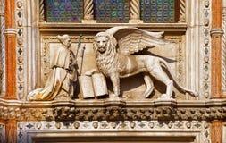 Le lion de Venise Image stock