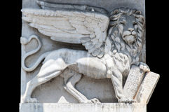 Le lion du saint Marco, Vérone photos libres de droits