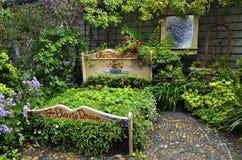 Le lit de fleur Photo libre de droits