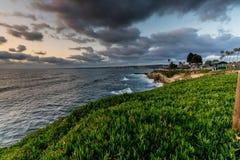 Le littoral de l'océan pacifique en Californie image libre de droits
