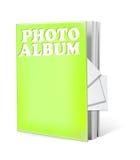 Le livre d'album photos a isolé Photos stock