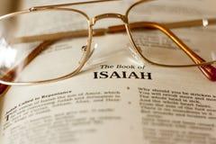 Le livre d'Isaïe images libres de droits