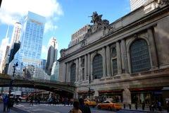 Le livre des Etats-Unis de bibliothèque publique de New York City Photographie stock