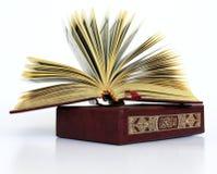 Le livre islamique saint Image libre de droits