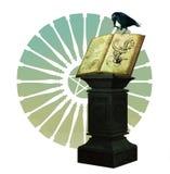 Le livre magique illustration de vecteur