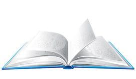 le livre s'est ouvert Photo libre de droits