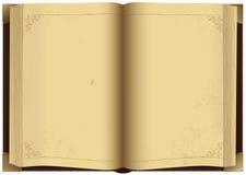 le livre vieux s'ouvrent Photographie stock libre de droits