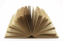 le livre vieux s'ouvrent Images stock