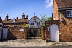 Le logement de luxe a offert par Airbnb le 12 août 2016 à Chichester, Royaume-Uni photos libres de droits