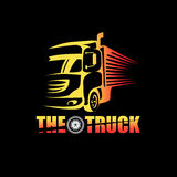 Le logo de camion Photo stock