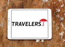 Le logo de compagnies de voyageurs photos libres de droits